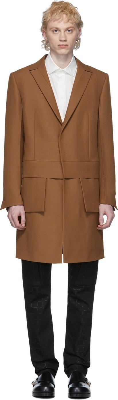 1017 ALYX 9SM Brown Apex Coat