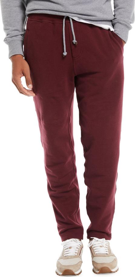 Brunello Cucinelli Men's Cotton-Blend Drawstring Sweatpants