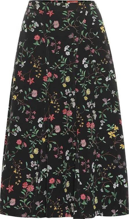 Altuzarra Caroline floral silk skirt