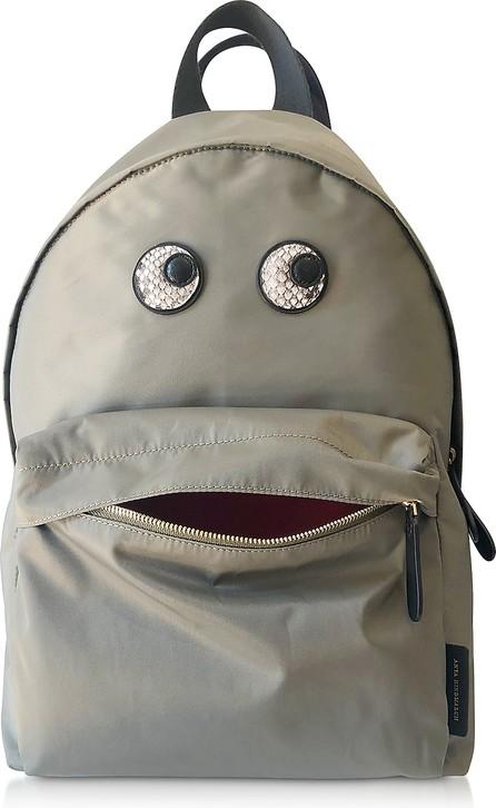 Anya Hindmarch Snake Print Eyes Nylon Backpack