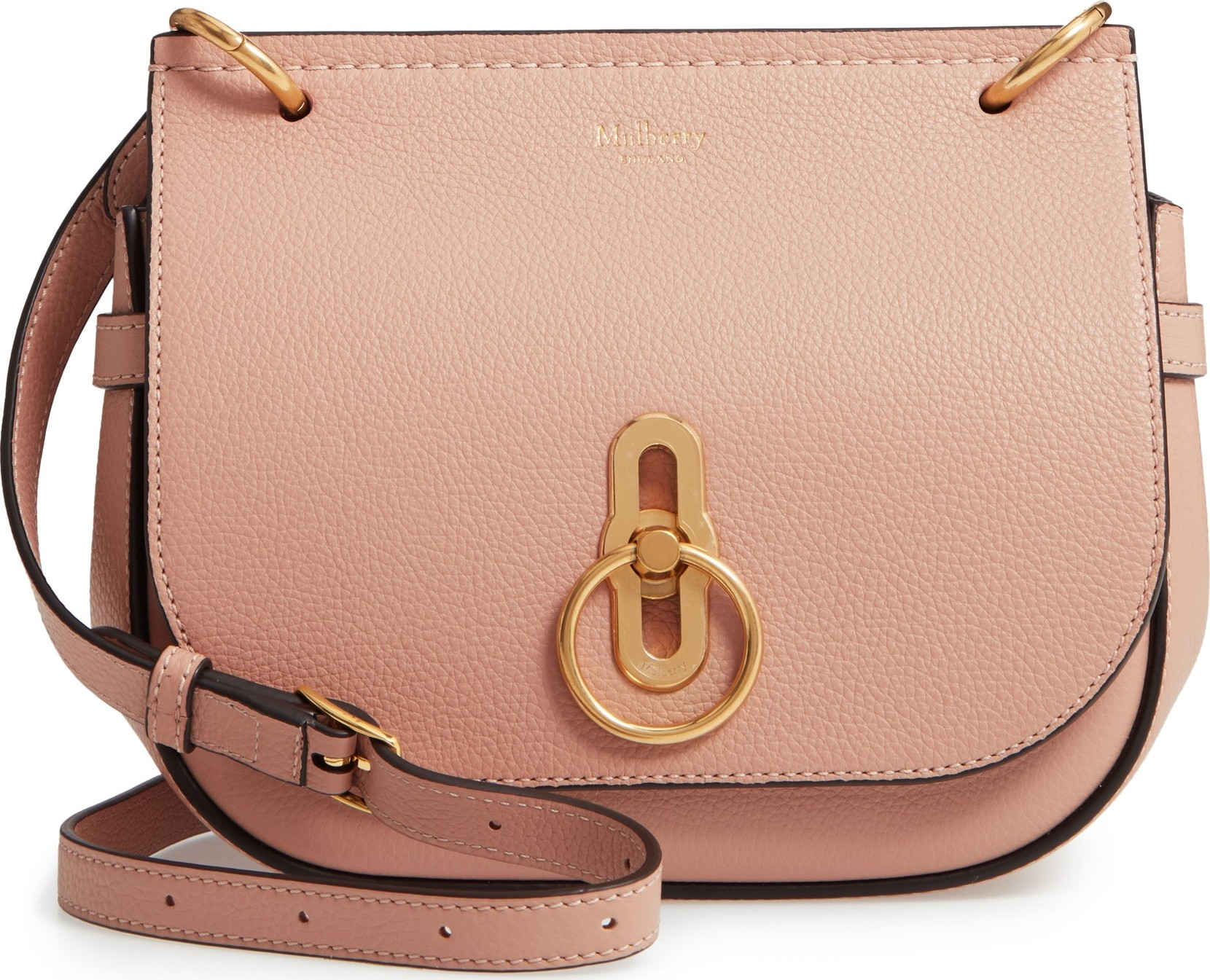 cf714e7ece45 Mulberry Small Amberley Leather Crossbody Bag - Mkt