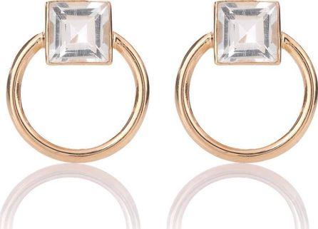Loren Stewart Door Knocker 14kt gold and topaz earrings q3txB