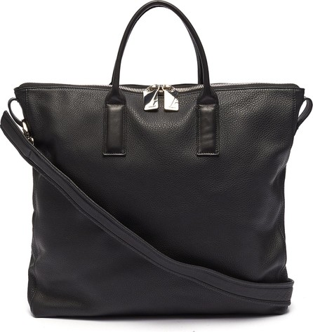A-Esque 'Portfolio' grainy leather tote bag