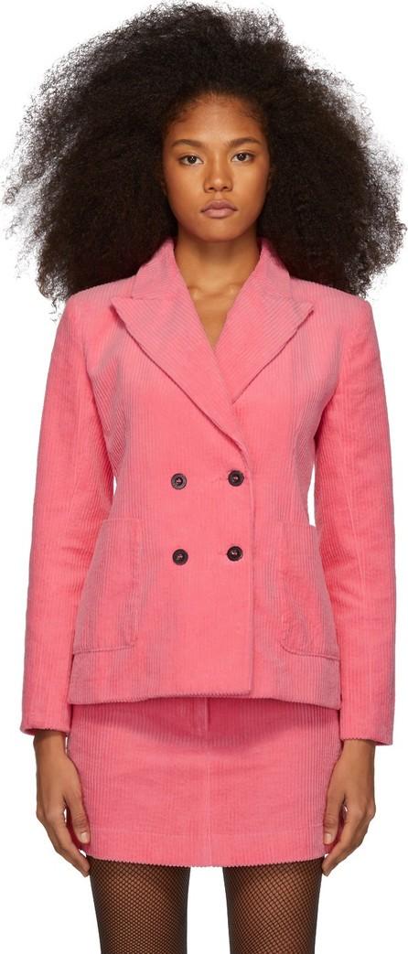 Ashley Williams Pink Corduroy Executive Blazer
