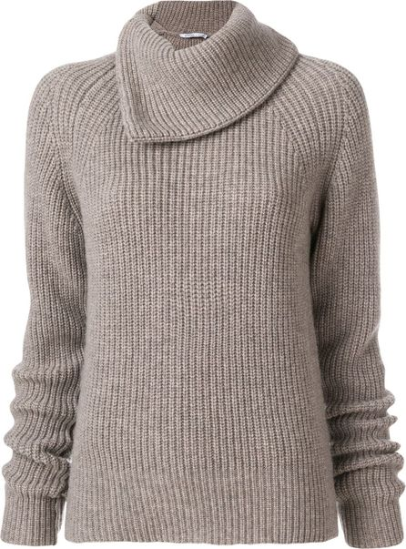 Agnona oversized collar sweater