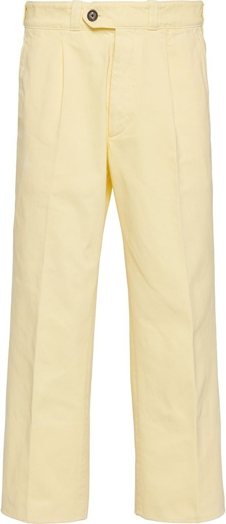 Prada Cropped straight-leg trousers