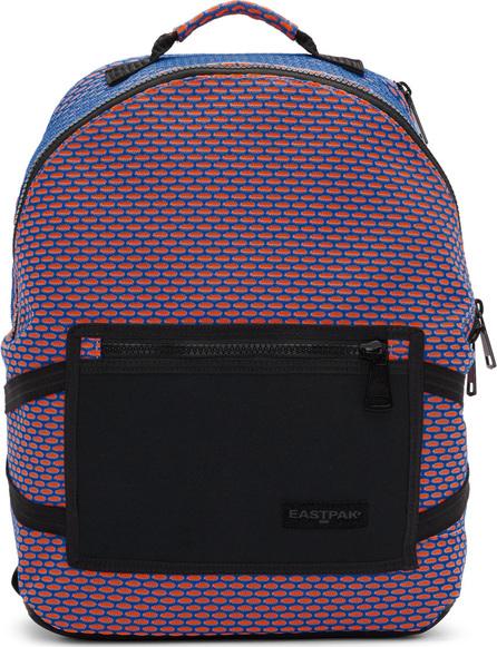 Eastpak Orange & Blue Padded Bright Twine Backpack