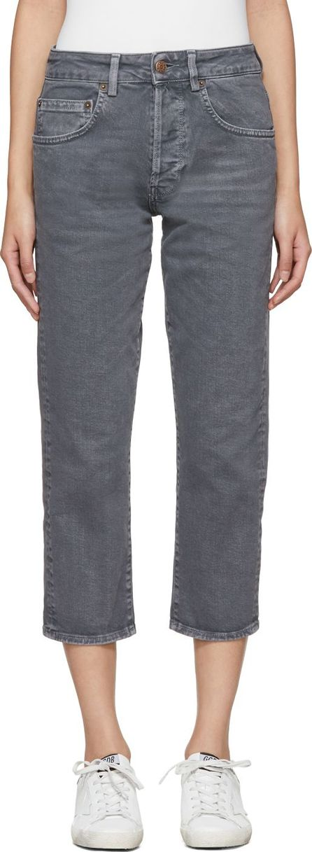 6397 Grey Shorty Jeans