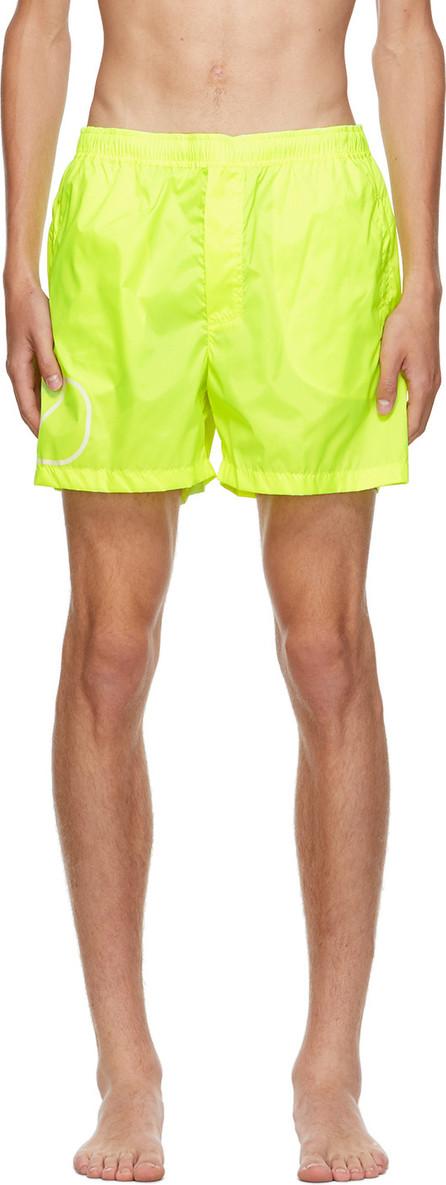 Valentino Yellow VLogo Swim Shorts