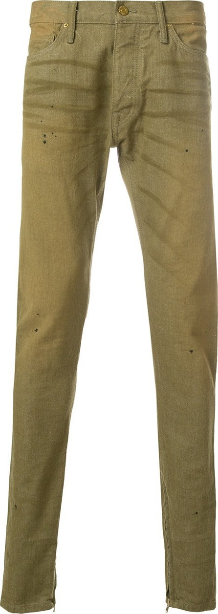 Fear of God whisker detail trousers
