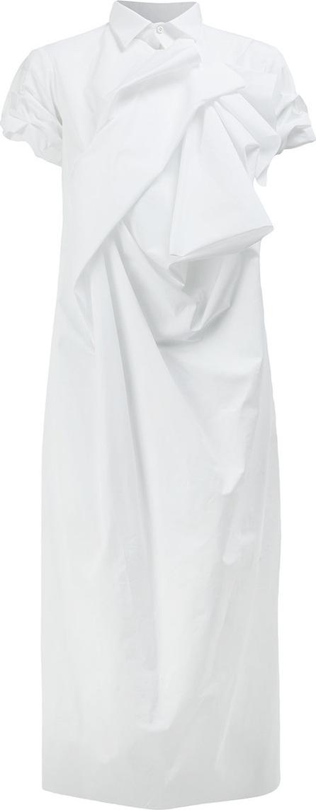 Aganovich Asymmetric shirt dress