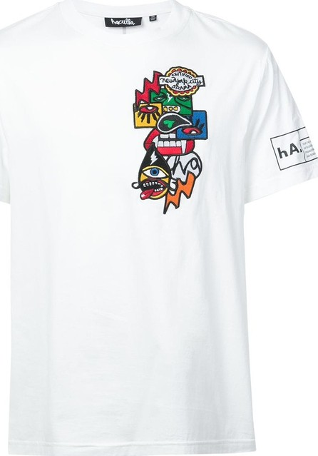 Haculla Encrypted patch T-shirt