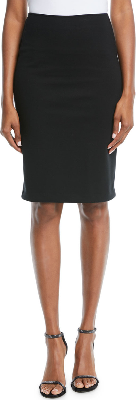 Emporio Armani Milano Jersey Knee-Length Pencil Skirt