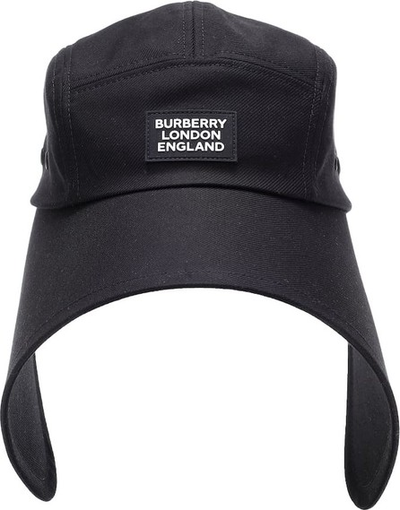 Burberry London England Cotton-twill bonnet cap