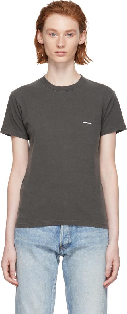 Balenciaga Black Mini Logo T-Shirt
