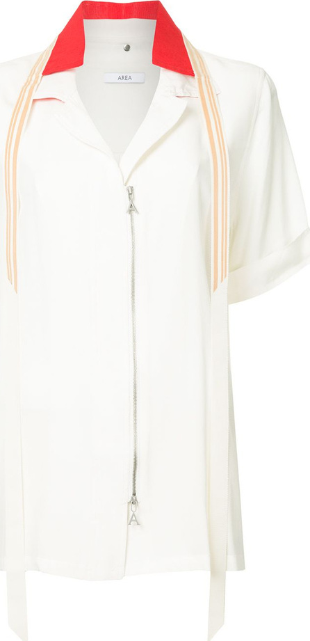 Area Double collar button front shirt