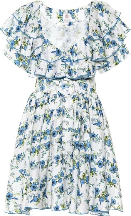e27fa213 Gül Hürgel Exclusive to Mytheresa – Floral linen minidress