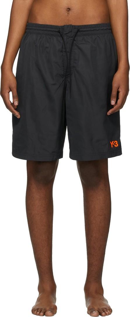 Y-3 Black Logo Swimsuit