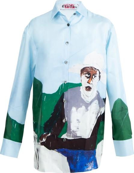 Etudes Etudes x Henry Taylor Silk Long Shirt