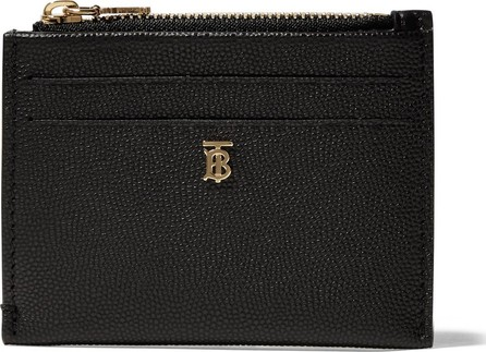 Burberry London England Textured-leather cardholder