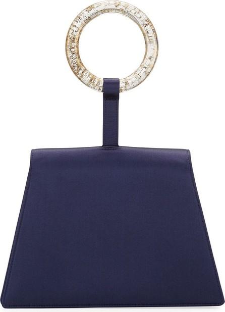 Carolina Santo Domingo Satin Bangle Clutch Bag
