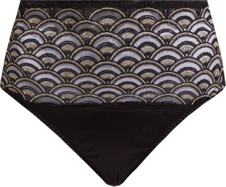 Coco De Mer X V&A Gilded Arch thong