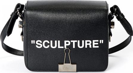 """Off White """"Sculpture"""" Flap Shoulder Bag"""