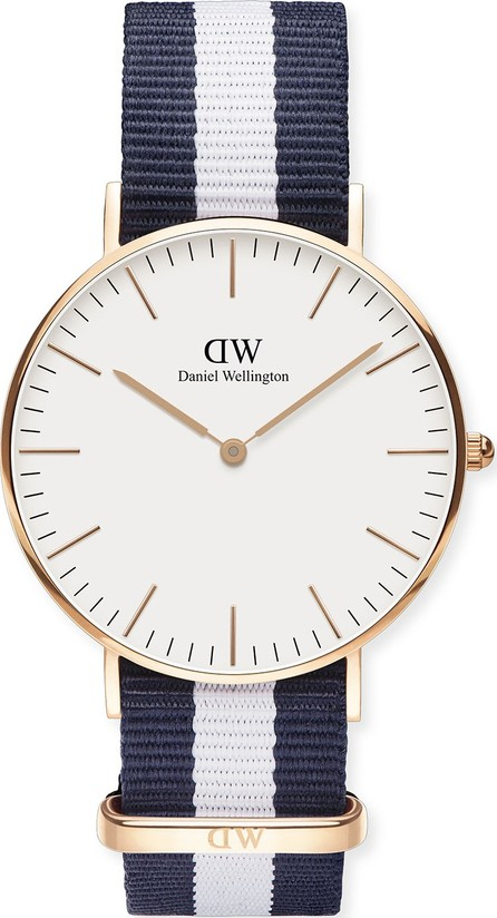 Daniel Wellington 36mm Classic Glasgow Winchester Watch