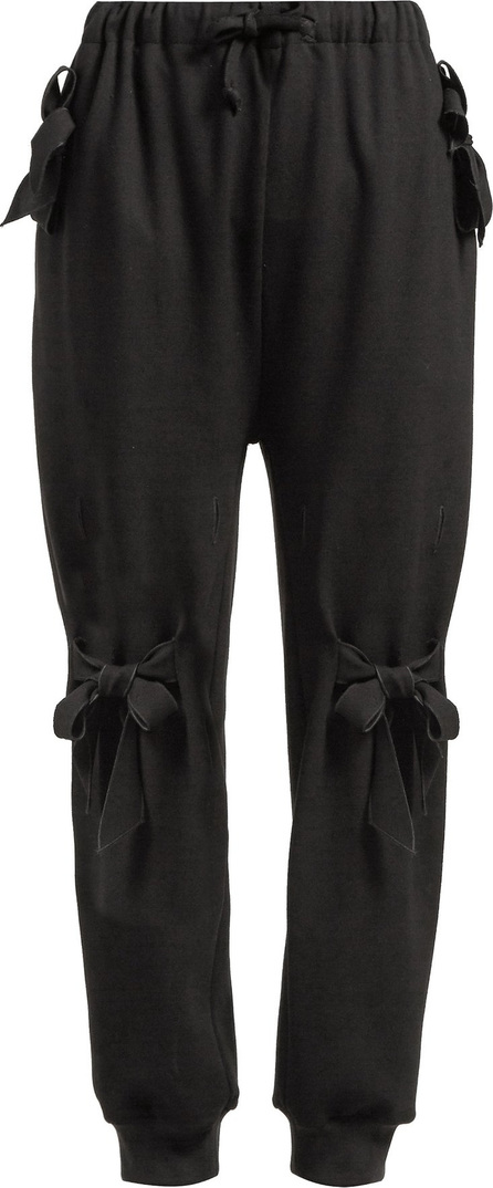 Simone Rocha Jersey bow-pocket track pants
