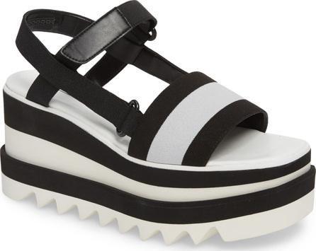 Stella McCartney Stripe Platform Sandal