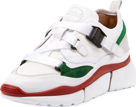 Chloe Multicolor Buckle Sneakers