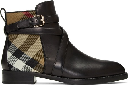 Burberry London England Black Vaughan Boots