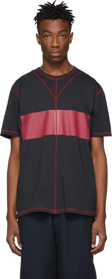 Craig Green Black & Red Acid Wash T-Shirt