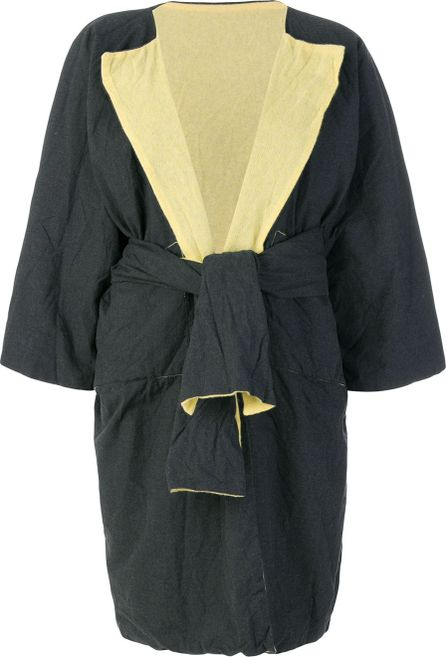 Daniela Gregis reversible wrap coat