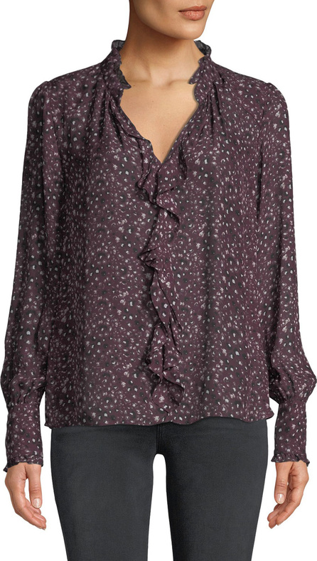 e7fc54ae7008d5 Parker Valentino Ruched Off-The-Shoulder Silk Blouse - mkt