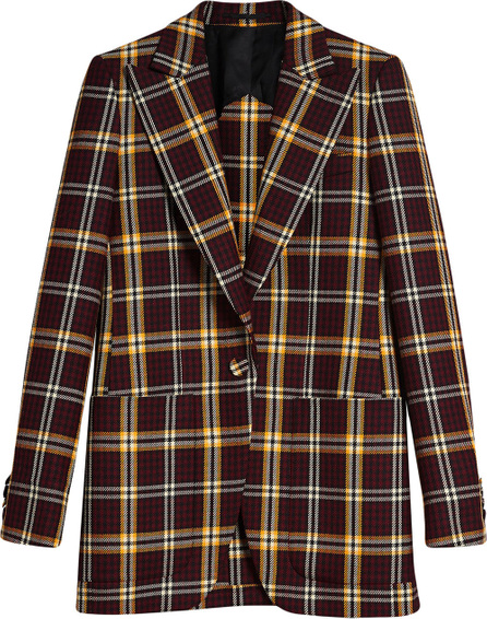 Burberry London England Check fitted blazer