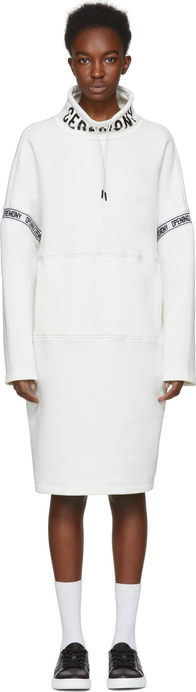 Opening Ceremony White Limited Edition Victor Dress