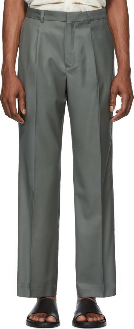 Jacquemus Green 'Le Pantalon Yvan' Trousers