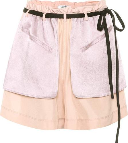 Valentino Crêpe and satin shorts