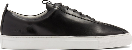 Grenson Leather low-top trainers