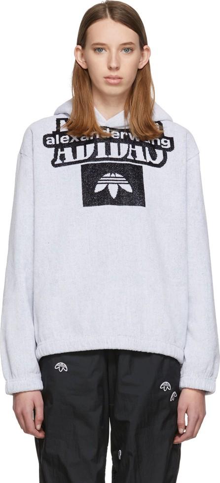 Adidas Originals by Alexander Wang White Towel Hoodie