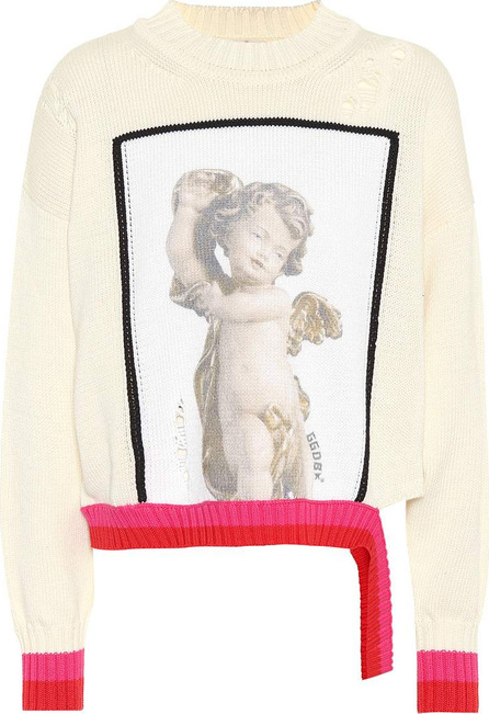 Golden Goose Deluxe Brand Intarsia cotton sweater