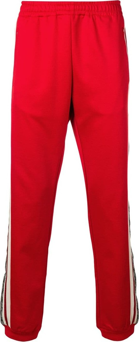 Gucci Oversize technical jersey track pants