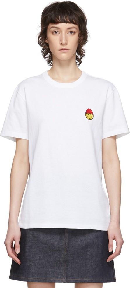 AMI White Smiley T-Shirt