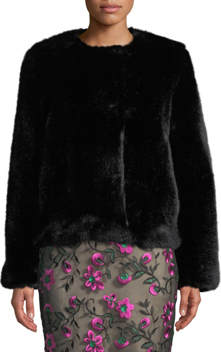 05ad51ed734c MILLY Riley Long Faux Fur Coat - mkt