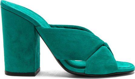 Alumnae X Slide Block Heels