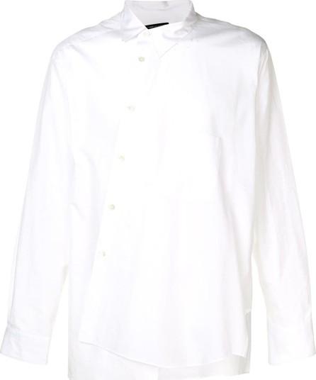 Comme Des Garçons Homme Plus Long-sleeve asymmetric shirt