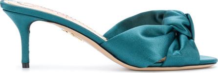 Charlotte Olympia Lola satin sandals