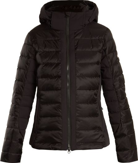 Capranea Splendit hooded quilted-down ski jacket