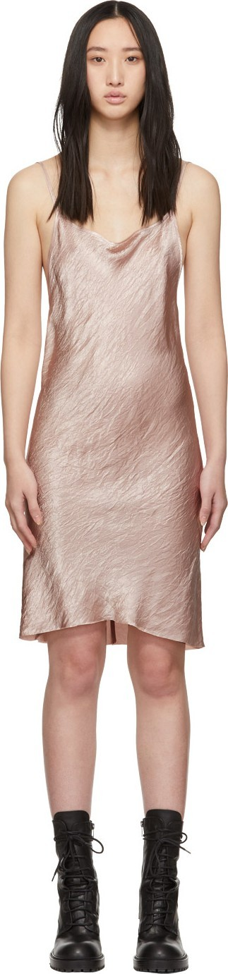 Ann Demeulemeester Pink Slip Dress